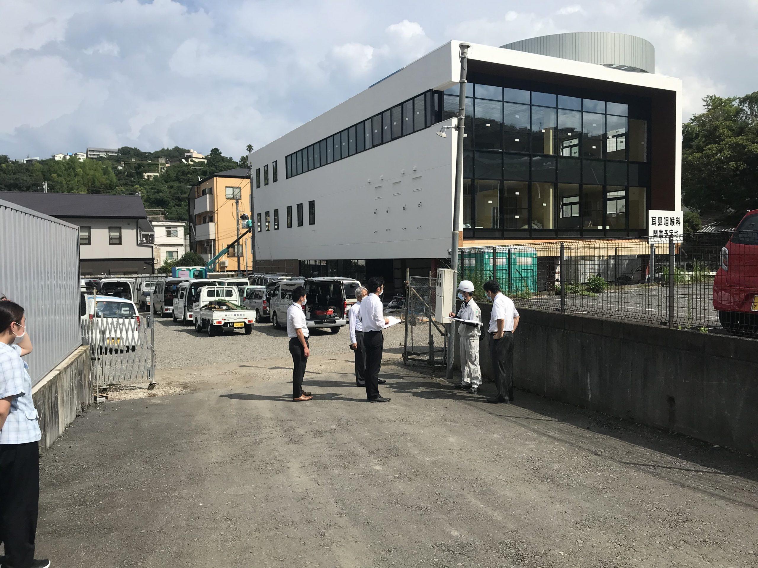 広野MCビル(医療モール)10月5日(月)オープン予定