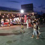 松川藤の広場のお祭り
