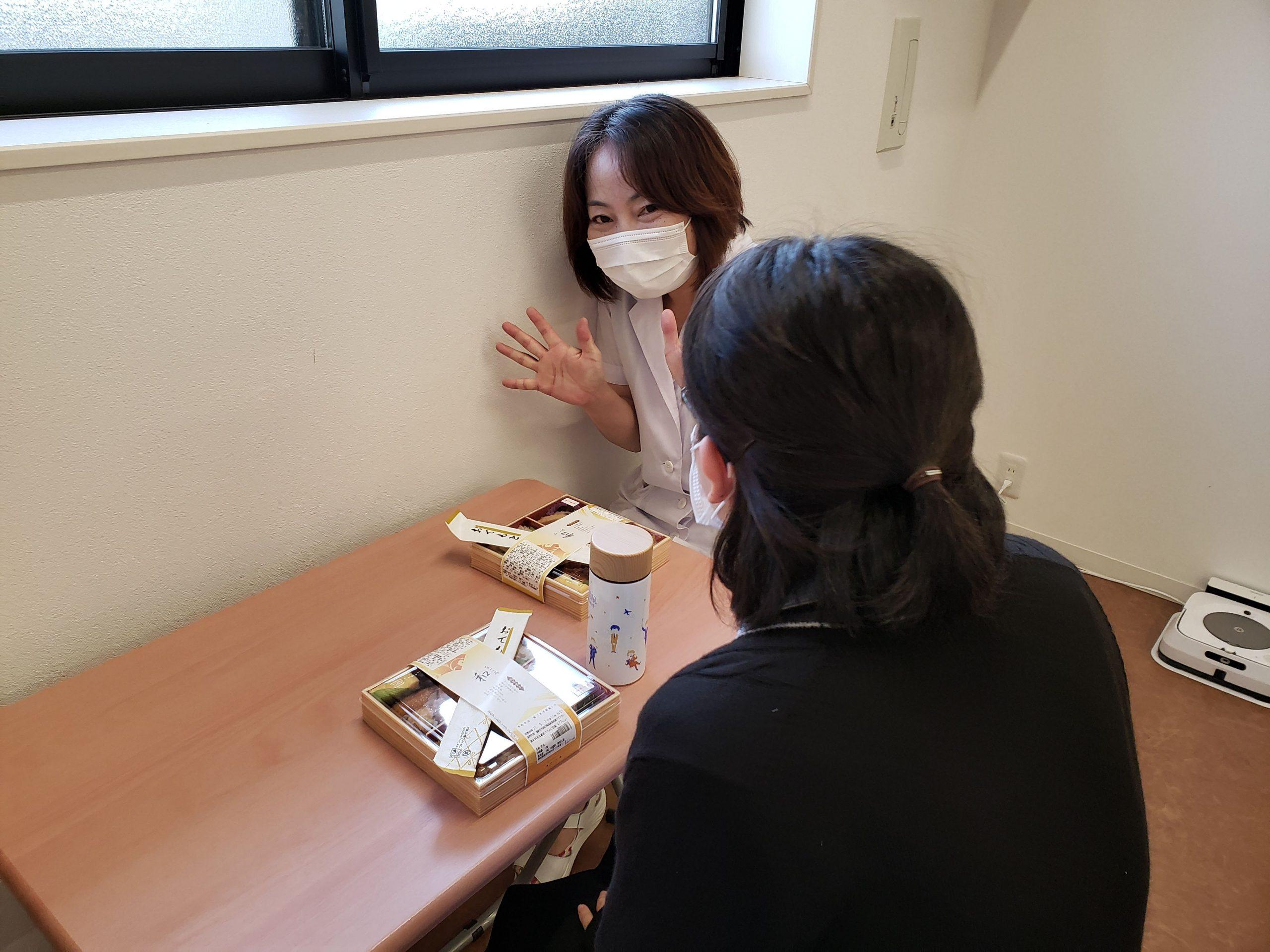 登録販売者の試験お疲れ様会を行いました。